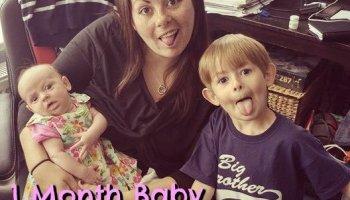 1 month baby recap feature image