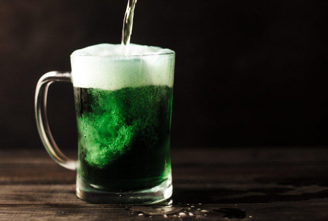 green irish drink