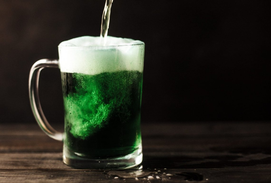 green irish drink