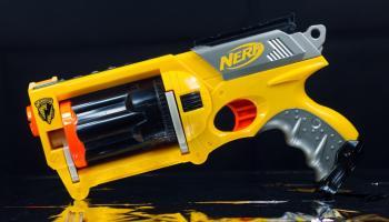Nerf Target Game Free Printable