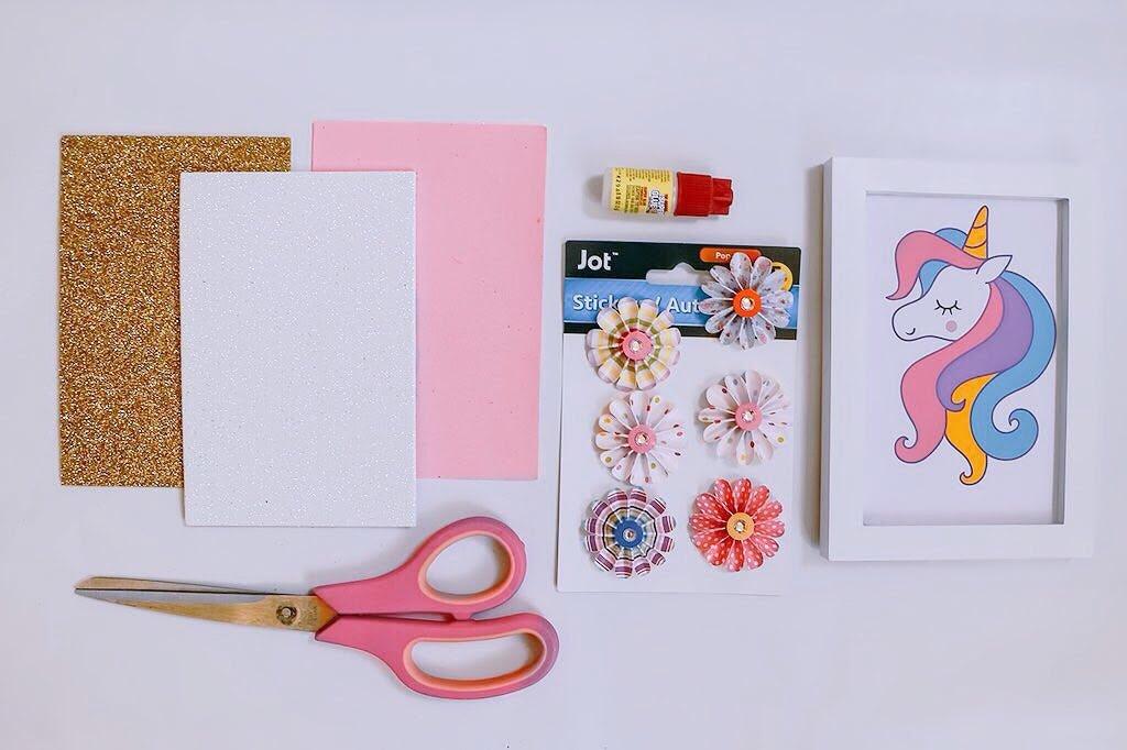 unicorn craft frame materials