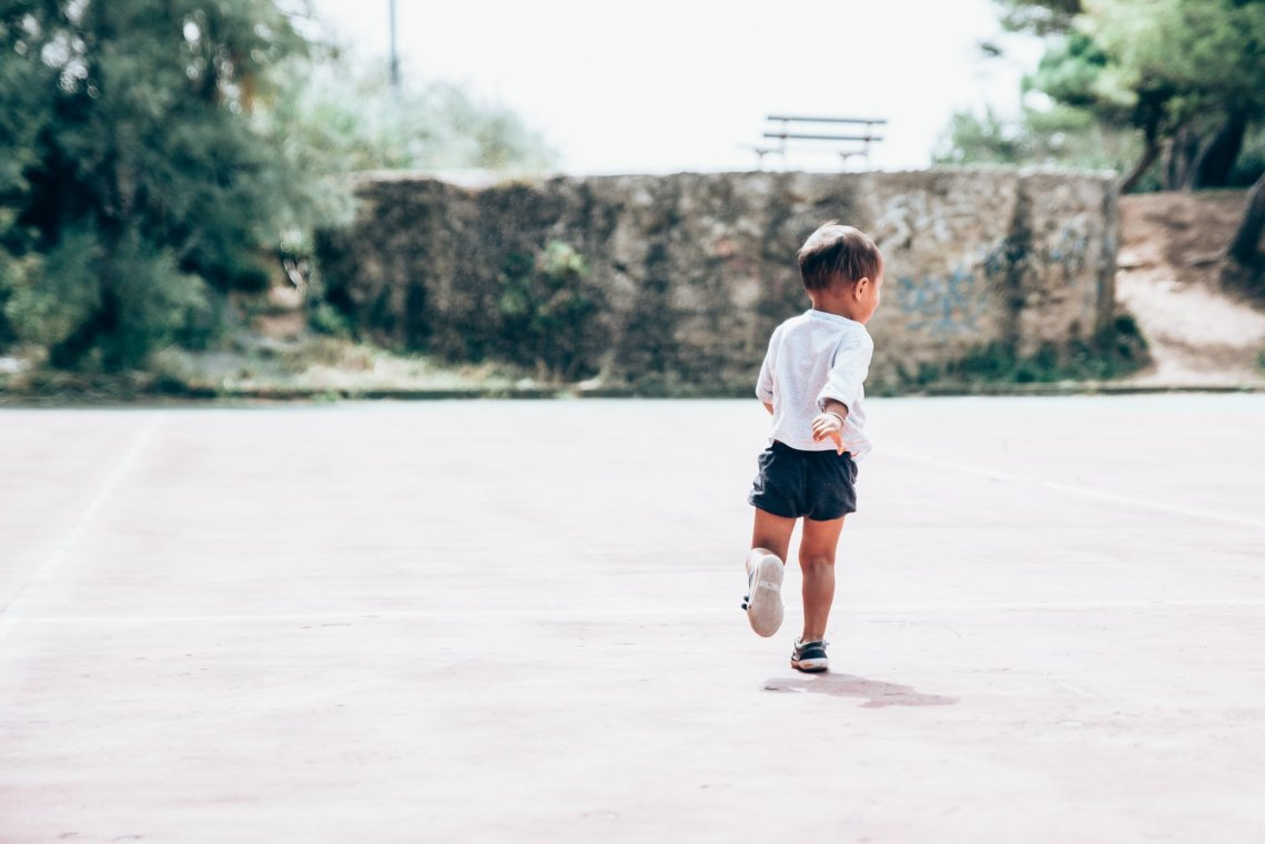 Running with a Toddler