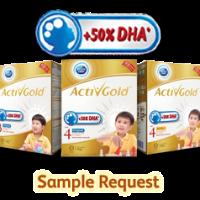 Dutch Lady ActivGold Milk Sample -Free 650gm Box Sample