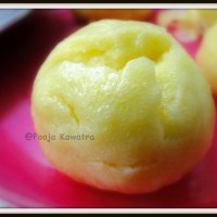 Sweet potato mantou ( Steamed Bun)