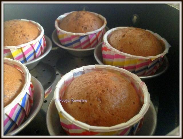 Steam milo cupcake