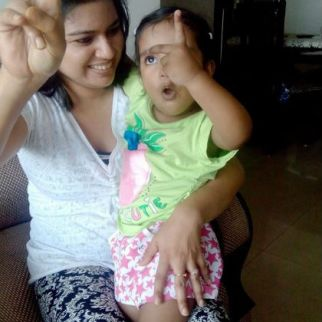 """Motherhood to me is a Magic…better to say """"A Super Magic"""". Being a Mom is a blessing and a Proud Feeling and a Magic that brings a Super Mommy out of a casual woman in you.- Supriya"""