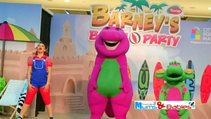 Barney City square