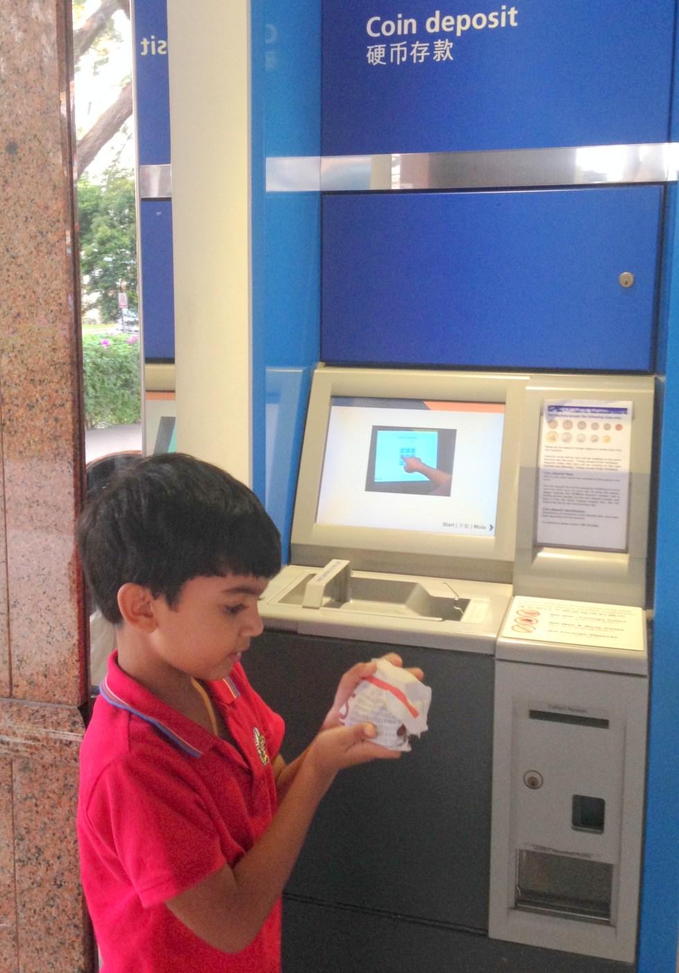 coins deposit