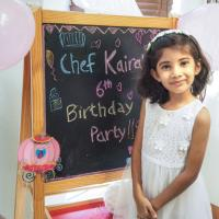 Chef Kaira's Baking Birthday Party