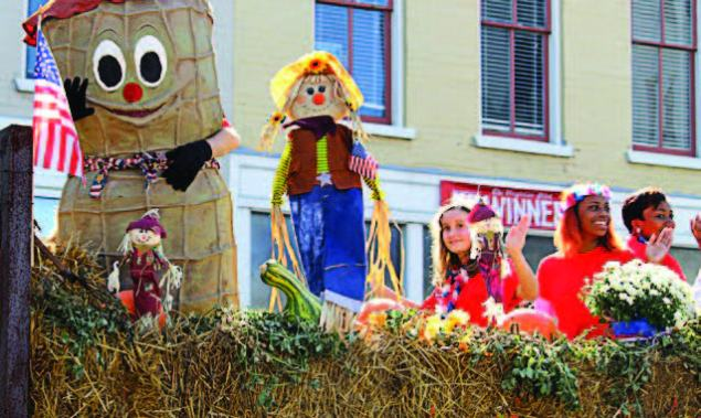 The current reincarnation of the Suff olk Peanut Fest, now held in October and attended by about 150,000 people, is in its 39th year. The fi rst event, minuscule by comparison, was held in January 1941 and attracted 10,000 visitors. (Photo provided)