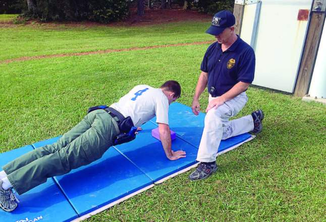 Physical fitness is a requirement to gain employment in the field of law enforcement