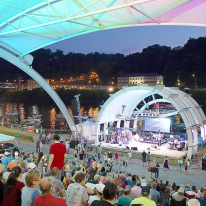 "Two city council members formed a network and gained support for a vision of Charleston as the ""cultural, recreational and business capital of the Appalachian Mountains"". Their plan built on recent successes, including the creation of the Schoenbaum Stage and renovation of Haddad Riverfront Park. (Photo provided)"