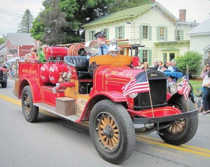 The rural community of Springfi eld, N.Y., near Cooperstown, celebrates America's Independence Day with an annual parade that has been named one of the best in the country.