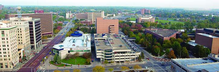 "University of Michigan-Flint has made great strides in revitalizing Genesee County in recent years. The institution was ranked by U.S. News and World Report as a ""Best in the Midwest"" for 2015. (Photo provided)"