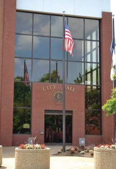 City hall in Manassas, Va., is going through a renovation to make it more accessible to the public while maintaining a safe working environment for employees. (Photo provided)
