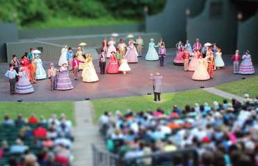 "As one of America's first great composers, Stephen Foster's life is the subject of a summertime musical, ""The Stephen Foster Story."" It is Bardstown's largest summer attraction and is held at an amphitheater at My Old Kentucky State Home Park. (Photo provided by Bardstown Tourism)"