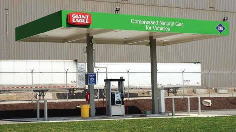 Contrary to old myths, compressed natural gas stations are just as safe as any fueling station and even need a lot of the same types of maintenance, too. (Photo provided by National Alternative Fuels Training Consortium)