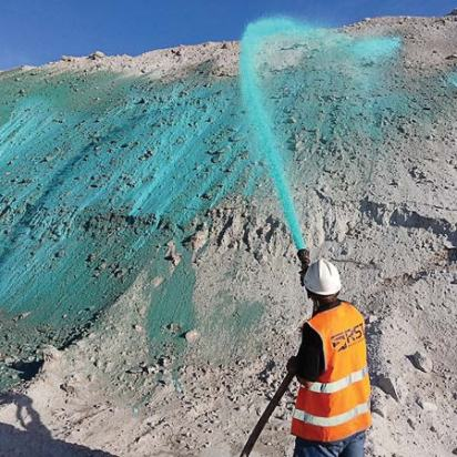 Aqua Blaster is used for dust control elsewhere; however, there are several industries that could use this device, including construction, mining and demolition control. (Photo provided)