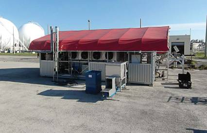Kinston, N.C., demoed a biosolids dryer for six months during which its expectations were exceeded. During that demo time, the water treatment facility staff had a chance to master maintenance and repair of the machine and to get comfortable with the way it operates. (Photo provided)