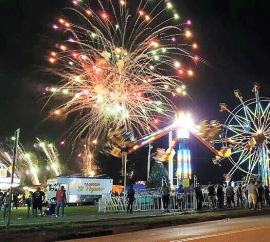 Orrville, Ohio's, Fire in the Sky event features fireworks and a carnival, complete with games, rides and food. (Photo provided)