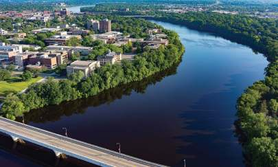 St. Cloud, Minn., has invested heavily in renewable, resilient technologies since building its hydroelectric generation facility in 1988 and continues to do so. (Photo provided)