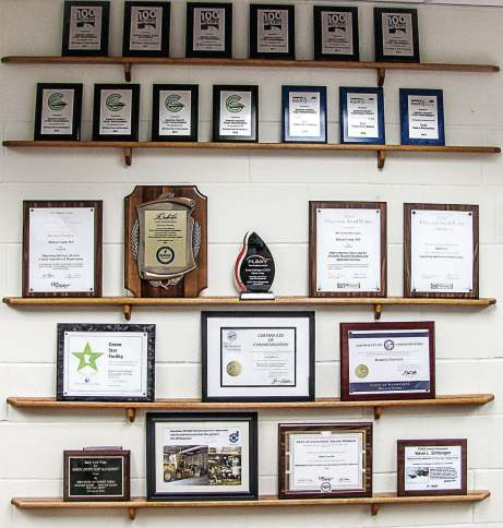 "Dakota County Fleet Management has received plenty of recognition for its service, including ranking No. 6 on the ""100 Best Fleets in North America"" list. (Photo provided by Dakota County Fleet Management)"