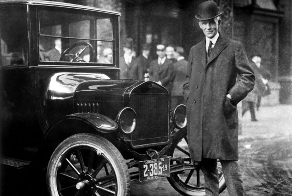 Kevin Flood on The Life and Times of Henry Ford: Eclectic American Icon and Business Legend!