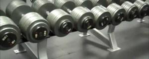Heavy Dumbbell Rack