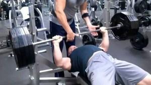 405 lb Bench Press