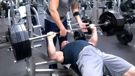 405 lb Bench Press - TestoFuel Test Booster