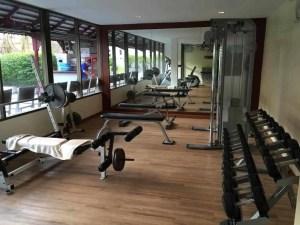 Hotel workout Chiang Mai Dusit Princess