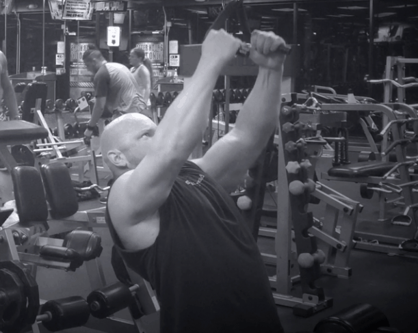 Back Exercises – Close Grip Pulldowns 1