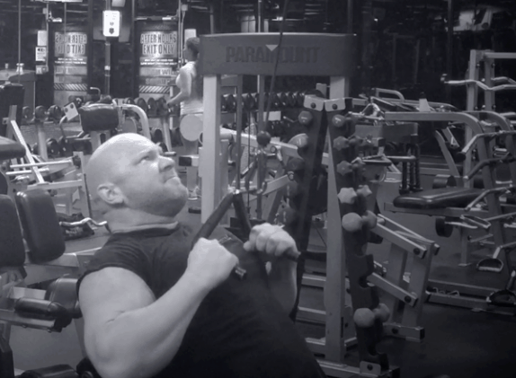 Back Exercises – Close Grip Pulldowns 2