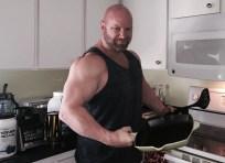 Jason Stallworth in the kitchen
