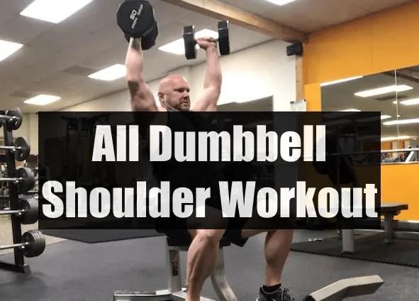 All Dumbbell Shoulder Workout