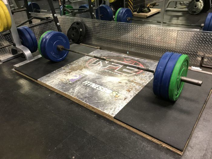 Barbell Deadlifts – Deadlift Platform