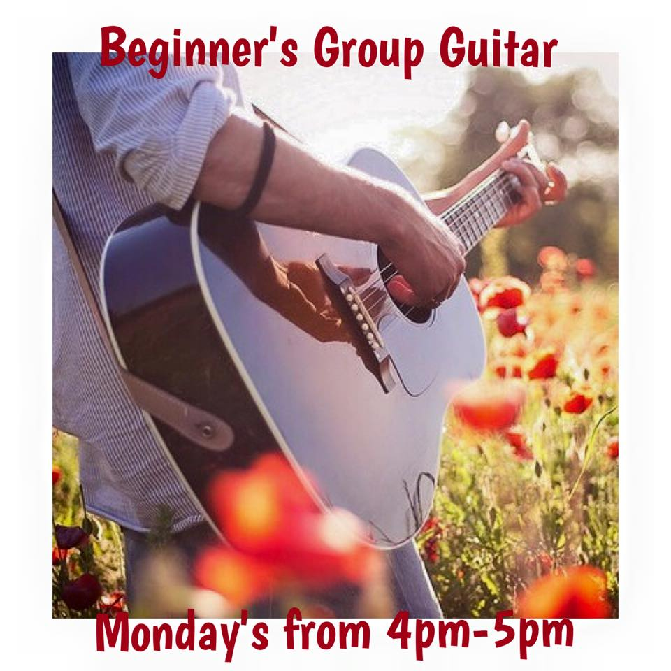 Beginner's Group Guitar Lessons!
