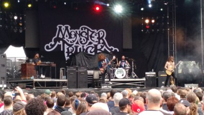 Monster Truck plays a live set at Rock on the Range 2016.