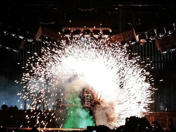 Rammstein performs live at Chicago Open Air at Toyota Park in Bridgeview, IL