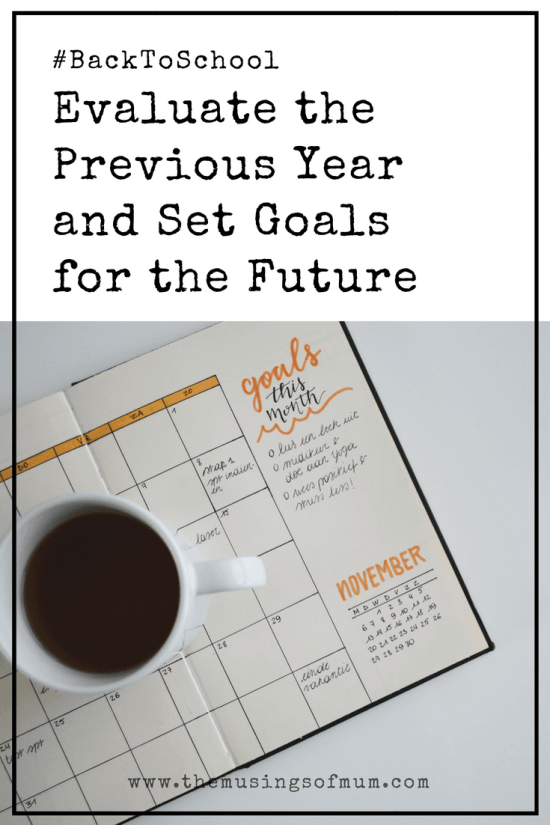 Evaluate the Previous Year and Set Goals for the Future - I have a tendency to set too many goals for myself, and very high standards for my girls. What I've learned, is to be flexible and give grace.