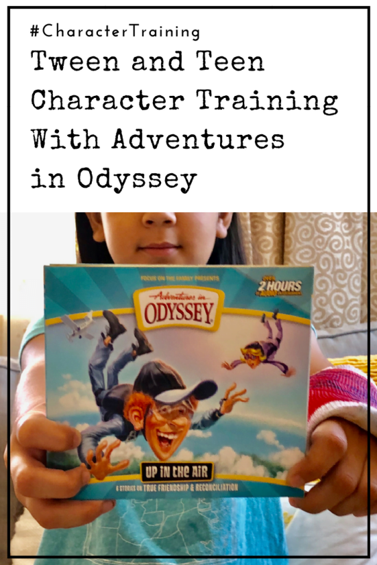 Tween and Teen Character Training With Adventures in Odyssey - For years we've used audio books in our homeschool. We've listened to classics, history lectures, and apologetics debates. But audio books for character training had never crossed my mind!