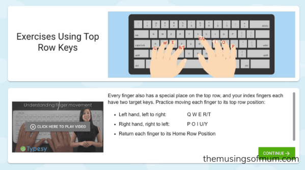 Typesy, The Typing Course