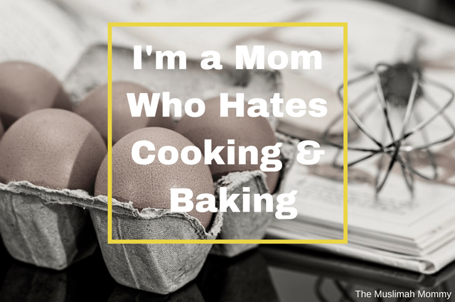 A mom confession- why she finds cooking stressful and doesn't enjoy it at all!