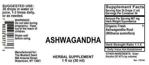 4003731 Ashwagandha Liquid Extract