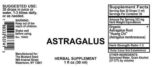 4003741 Astragalus Liquid Extract