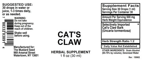 4003891 Cats Claw Liquid Extract