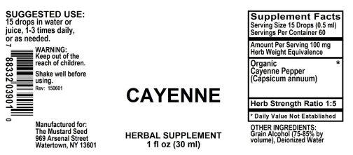 4003901 Cayenne Liquid Extract