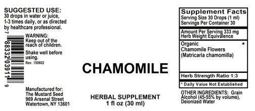 4003911 Chamomile Liquid Extract