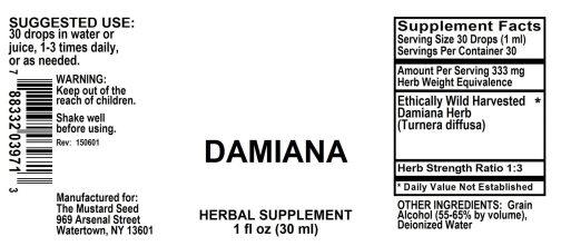 4003971 Damiana Liquid Extract