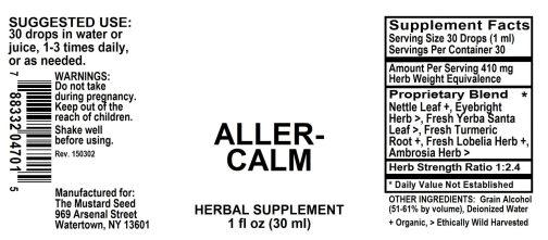 4004701 Aller Calm Allerg Ease Liquid Extract